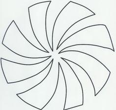 Peppermint Swirl Pattern