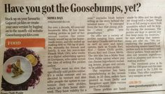 Goosebumps #Pickles covered in #Mid-day
