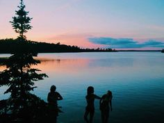Outdoor life Lakes fresh air & warm nights #justaroundthecorner
