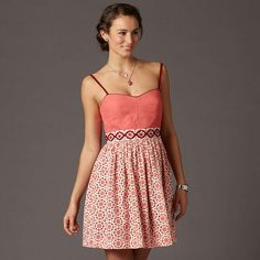 Clearly I am suffering from new dress withdrawal, but this is a perfect dress for spring.