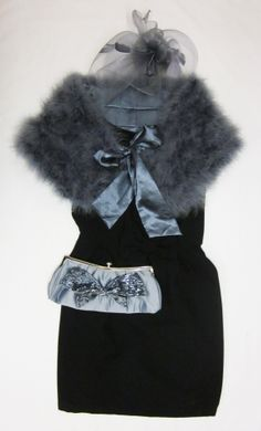 Ostrich cape....chic and cosy!
