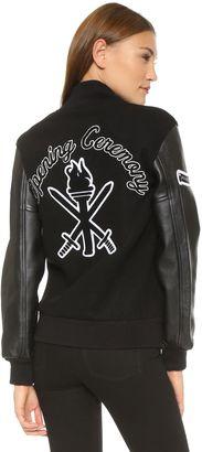 Shop Now - >  https://api.shopstyle.com/action/apiVisitRetailer?id=503711780&pid=uid6996-25233114-59 Opening Ceremony OC Varsity Jacket  ...