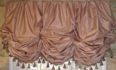 Balloon Shade Valance-over 100 color choices