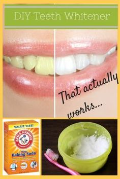 Use this DIY teeth whitener to whiten up your teeth.  This all natural recipe is easy to make and apply.