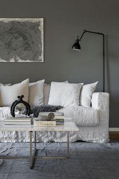 Salon Farbe Taupe, Anthrazit Grau Oder Hellgrau