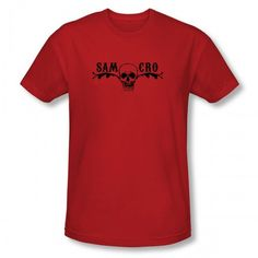 Sons of Anarchy SAMCRO Skull T-Shirt