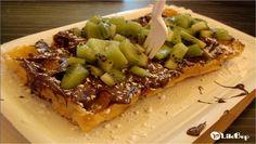 La gaufre Kiwi et Nutella