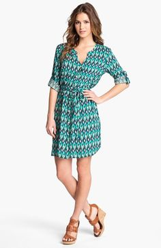 Lucky Brand 'Vailea' Shirtdress available at #Nordstrom