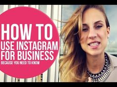 For those of you who don't know – Instagram is my latest obsession and in today's video we'll discuss HOW to use Instagram specifically for your business.