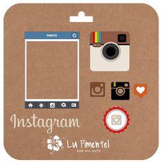 Lu Scrap and Crafts: Freebie silhouette - instagram