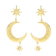 All the Clothes, Shoes, and Accessories You Need This Summer: If shopping for Summer intimidates you, no worries! We've got you covered. Here are the 125 pieces we want, need and may or may not have already added into our shopping cart. -- Marte Frisnes Marlow gold-plated earrings  |  coveteur.com
