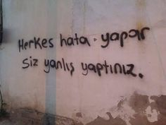 New post on senden-kalanlarimla-yalnizim Street Art Banksy, Graffiti, Illusion, Cool Words, Tattoo Quotes, Asdf, Galaxy Wallpaper, Ball Dresses, Nice