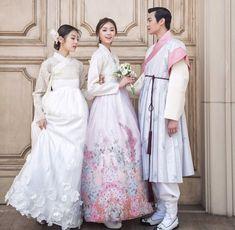 I•œe³µ Hanbok Korean Traditional Clothesdress Modernhanbok Elegant Modern Hanbok Wedding Dress