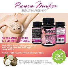 Herbal Young 3 x BOTTLES Natural Pueraria Mirifica Daily Capsules - Breast Enhancement Pills For Women - Breast Enlarger, Vaginal Health, Menopause Relief, Skin & Hair Health 60 Capsules How To Get Curves, Increase Bust Size, Menopause Relief, Enlargement Pills, Female Hormones, Pasta, Whatsapp Messenger, Hair Health, Herbalism