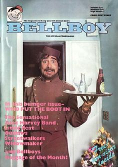 Keith Moon on the cover of Bellboy (and the centerfold . . .)