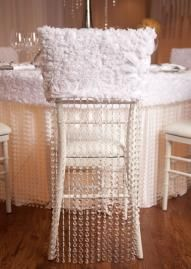 fancy chair covers malawi chairs johannesburg 41 best wedding images decorated rosette shrug with beading www myfloweraffair com can create a similar