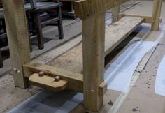 Table base Threshing Floor, Trestle Table, Joinery, Outdoor Furniture, Outdoor Decor, 4x4, Innovation, Condo, Projects To Try