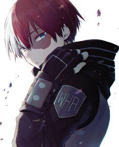 My Hero Academia Shouto, My Hero Academia Episodes, Hero Academia Characters, Anime Characters, Hero Wallpaper, Cute Anime Wallpaper, Cute Anime Boy, Anime Boys, Japon Illustration