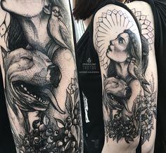 Monika Malewska #tattoo #art