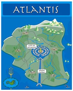 Another idea of what Atlantis MIGHT have looked like.