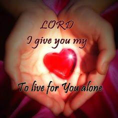 "MATTHEW  22:37 - Jesus said unto him, ""Thou shalt love the Lord thy God with all thy Heart, and with all thy Soul, and with all thy mind.   KJV."