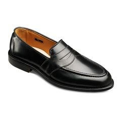 a6fb8a1de1b Allen Edmonds Randolph Cordovan Loafers 4899 Black Genuine Shell Cordovan  Penny Loafers