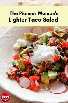 For a lighter take on Taco Tuesday (or any day of the week), swap ground beef for ground turkey and cook it up in a skillet with black beans, chipotle chile and salsa. Serve with lightly charred corn tortillas and an assortment of fresh toppings. Slow Cooker Recipes, Beef Recipes, Cooking Recipes, Healthy Recipes, Ground Turkey, Ground Beef, Chicken Tortilla Casserole, Slow Cooker Mexican Chicken, Braised Brisket