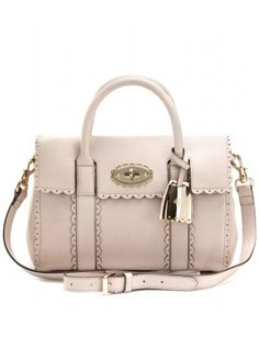 mulberry, cookie small bayswater leather hand tote