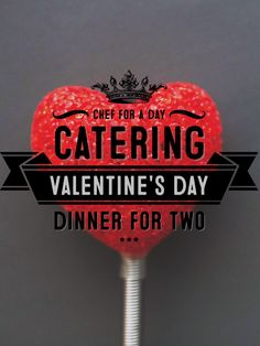 Contact us today for your personal chef Valentine Dinner in the comfort of your home or hotel with a kitchenette. (412) 853-5916   contact@chefforadaycatering.com