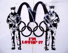 Le street art britannique (et pas que Banksy) détourne les JO | Rue89 Sport