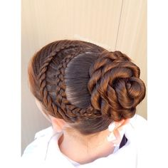 Beautiful! Lace twist into Dutch lace braid to the #CGHRopeTwistBun
