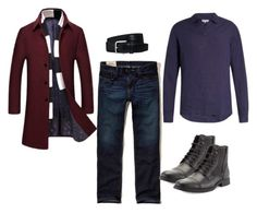 Designer Clothes, Shoes & Bags for Women Hollister, Men's Fashion, Menswear, Brown, Fall, Polyvore, Stuff To Buy, Shopping, Collection