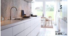 Beautiful new kitchen from IKEA - Method/Maximera/Nodsta <3
