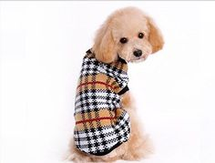 2016 New Arrival Dog Sweater plaid Autumn/Winter Knit Wool Pet Dog Sweaters female/male Dog Coat Warm