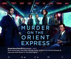 Wow! Johnny Depp, Daisy Ridley, Michelle Pfeiffer, Penélope Cruz, Kenneth Branagh, dll pada main di film Murder On The Orient Express.