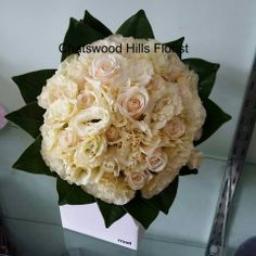 Rose and Lissie Posy, made by Chatswood Hills Florist at Springwood QLD