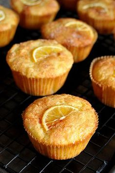 I want to try these Meyer lemon muffins - they use the whole entire lemon in the batter!