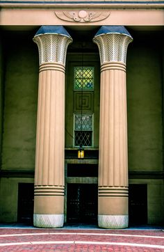 The Egyptian Building | Thomas S. Steward, Architect, 1845. Richmond, Virginia: Virginia Commonwealth University (Medical College of Virginia).