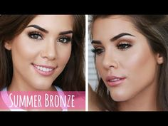 Ultimate Summer Bronze Goddess Makeup Tutorial | Too Faced Semi Sweet Chocolate Bar Palette - YouTube #toofaced