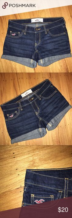 Brand new Hollister Shorts Hollister Shorts New never worn, just took off the tags before trying them on. Perfect condition like in store. Size 00! Price is very fair! Feel free to ask questions in the comments or make an offer, will negotiate! Hollister Shorts Jean Shorts