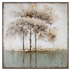 hobbitholeco Green Tree I Wall Art - N2432A