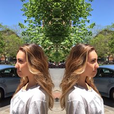 #ombre #bayalage #beachy #color #wella #colormelt