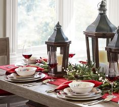 Saturday Finds: My 10 Favorite Holiday Dinnerware Sets Christmas Table Settings, Christmas Tablescapes, Christmas Decorations, Table Decorations, Holiday Dinnerware, Dinnerware Sets, Christmas Salad Plates, Gift Of Time, Favorite Holiday