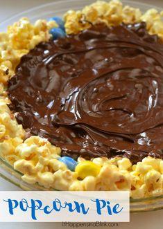 Popcorn Pie | AD #MakeItAMovieNight | Make a sweet popcorn pie treat for parties or a movie night