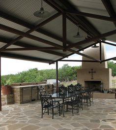 Flagstone patio - casasugar