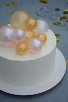 glimmer kugler i gelatine. Teen Cakes, Girly Cakes, Fancy Desserts, Cookie Desserts, Gelatine, Diy Dessert, Mousse, Danish Food, Food Crush