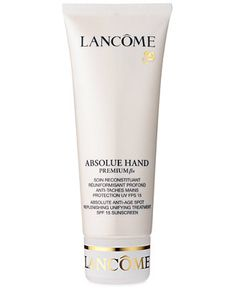 Lanc�me ABSOLUE HAND Absolute Anti-Age Spot Replenishing Unifying TreatmentSPF 15 Sunscreen, 3.4 Oz - Skin Care - Macy's