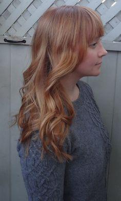 Soft Copper Blonde Hair Color Red Hair Color Pinterest