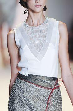 The always ladylike designs of Carolina Herrera...