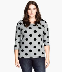 H&M H&M+ Jersey Top $12.95 Goes on the need list